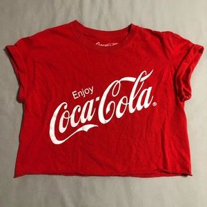 ✨Cropped Coca-Cola Tee
